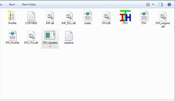 Updater into ITH folder
